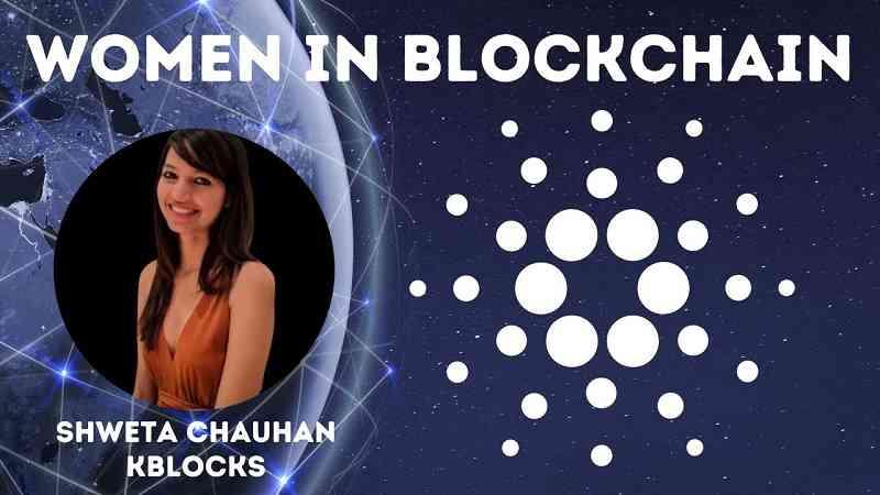 shweta chauhan cardano ada women in blockchain promo
