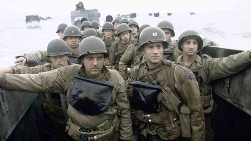 d-day scene from saving private ryan