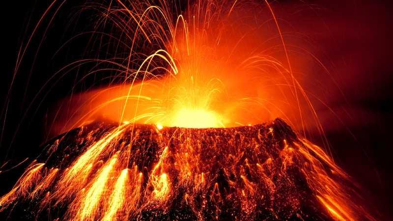 bitcoin volcano